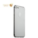 Супертонкий пластиковый чехол-накладка для iPhone 8 ICSES (0.3 мм), цвет прозрачный матовый