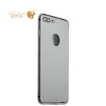 Супертонкий пластиковый чехол-накладка для iPhone 8 Plus ICSES (0.3 мм), цвет прозрачный матовый