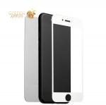 Зеркальное глянцевое защитное стекло для iPhone 7 Plus / 8 Plus (2в1) Silver, цвет серебристый