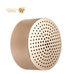 Портативная Bluetooth колонка Xiaomi Portable Round Box Speaker (FXR4039CN) Gold, цвет золотистый