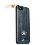 Пластиковая накладка для iPhone 7 Plus iBacks Ninja PC Case Black, цвет черный