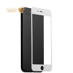 Защитное стекло для iPhone 7 / 8 COTEetCI 3D Nano Full screen glass High penetration (0.15 мм) WH-White, цвет белый