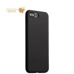 Силиконовый чехол-накладка для iPhone 8 Plus COTEetCI Silicone Case (CS7018-BK), цвет черный