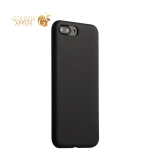 Силиконовый чехол-накладка для iPhone 7 Plus COTEetCI Silicone Case (CS7018-BK), цвет черный