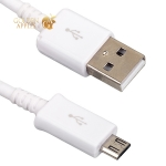 MicroUSB кабель ICSES>RU, цвет белый