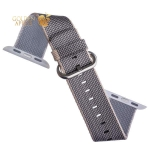 Нейлоновый ремешок для Apple Watch (38 mm) COTEetCI W11 NYLON BAND (WH5213-GY-38) Gray, цвет серый