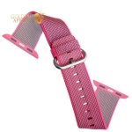 Нейлоновый ремешок для Apple Watch (38 mm) COTEetCI W11 NYLON BAND (WH5213-PK-38) Pink, цвет розовый