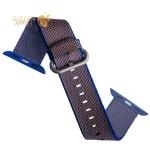 Нейлоновый ремешок для Apple Watch (38 mm) COTEetCI W11 NYLON BAND (WH5213-PR-38) Purple, цвет фиолетовый