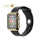 Пластиковый чехол для Apple Watch Series 2 / 3 (42 mm) COTEetCI Soft case (CS7031-CE), цвет золотистый
