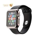 Пластиковый чехол для Apple Watch Series 2 / 3 (42 mm) COTEetCI Soft case (CS7031-MRG), цвет розовое золото