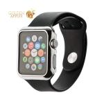 Пластиковый чехол для Apple Watch Series 2 / 3 (42 mm) COTEetCI Soft case (CS7031-TS), цвет серебристый