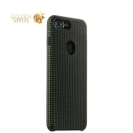 Чехол-накладка силиконовый COTEetCI Vogue Silicone Case для iPhone 7 Plus (5.5) CS7025-BK-GR Черный / Зеленый