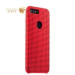 Силиконовый чехол-накладка для iPhone 8 Plus COTEetCI Vogue Silicone Case (CS7025-RD-BK), цвет красный / черный