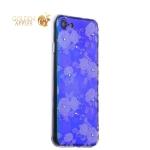 Силиконовый чехол-накладка для iPhone 8 Beckberg Golden Faith series со стразами Swarovski вид 20