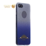 Силиконовый чехол-накладка для iPhone 7 Beckberg Starlight series со стразами Swarovski вид 1