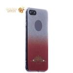 Силиконовый чехол-накладка для iPhone 8 Beckberg Starlight series со стразами Swarovski вид 2