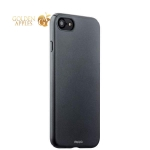 Пластиковый чехол-накладка для iPhone 8 Deppa Air Case (D-83269) Soft touch (1.0 мм), цвет графитовый
