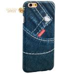 Накладка пластиковая Umku Jeans для iPhone 6S / 6 (4.7) Soft-touch вид 4