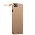 Пластиковый чехол-накладка для iPhone 8 Deppa Air Case (D-83270) Soft touch (1.0 мм), цвет золотистый