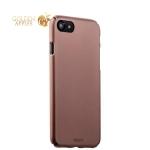 Пластиковый чехол-накладка для iPhone 8 Deppa Air Case (D-83271) Soft touch (1.0 мм), цвет розовое золото