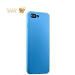 Силиконовый чехол-накладка для iPhone 7 Plus Deppa Gel Air Case (D-85274) Soft touch (0.7 мм), цвет голубой