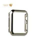 Пластиковый чехол для Apple Watch Series 1 (42 mm) COTEetCI Soft case (CS7016-TS), цвет серебристый