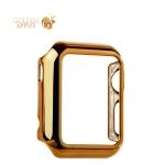 Пластиковый чехол для Apple Watch Series 1 (38 mm) COTEetCI Soft case (CS7015-CE), цвет золотистый