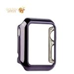 Пластиковый чехол для Apple Watch Series 1 (38 mm) COTEetCI Soft case (CS7015-GC), цвет графитовый