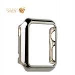 Пластиковый чехол для Apple Watch Series 1 (38 mm) COTEetCI Soft case (CS7015-TS), цвет серебристый
