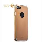 Алюминиевая накладка для iPhone 8 iBacks Premium Aluminium case Essence Gold, цвет золотистый