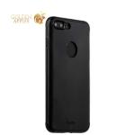 Алюминиевая накладка для iPhone 8 Plus iBacks Premium Aluminium case Essence Black, цвет черный