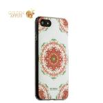 Силиконовый чехол-накладка для iPhone 8 Beckberg Exotic series со стразами Swarovski вид 18