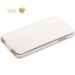 Кожаный чехол-книжка для iPhone 6S / 6 Fashion Case, цвет белый