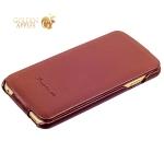 Кожаный чехол-книжка для iPhone 6S / 6 Fashion Case, цвет коричневый
