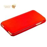 Кожаный чехол-книжка для iPhone 6S / 6 Fashion Case, цвет красный