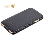 Кожаный чехол-книжка для iPhone 6S / 6 Fashion Case, цвет черный