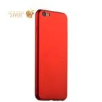 Силиконовый чехол-накладка для iPhone 6S Plus / 6 Plus J-Case Delicate Series Matt (0.5 мм), цвет красный