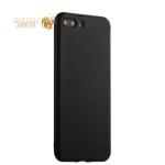 Силиконовый чехол-накладка для iPhone 7 Plus J-Case Delicate Series Matt (0.5 мм), цвет черный