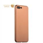 Силиконовый чехол-накладка для iPhone 7 Plus J-Case Delicate Series Matt (0.5 мм), цвет розовое золото