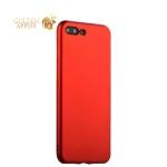 Силиконовый чехол-накладка для iPhone 7 Plus J-Case Delicate Series Matt (0.5 мм), цвет красный