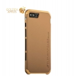 Алюминиевый чехол-накладка для iPhone 8 Plus Element Case Solace, цвет золотистый