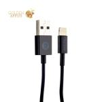 Lightning витой кабель USB Deppa Spring cable (D-72131) MFI (1.5 м), цвет черный