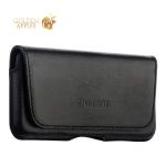 Чехол-кобура (внут. маг.) кожаный Valenta (С-918 2XL) Durban для iPhone SE/ 5S/ 5 на ремень черный
