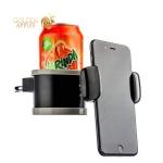 Автомобильный держатель для смартфонов и напитков COTEetCI ST-07 (ST3107-BK) в решетку (ширина 100 мм), цвет черный