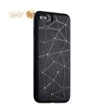Силиконовый чехол-накладка для iPhone 8 Plus COTEetCI Star Diamond Case (CS7033-BK), цвет черный