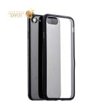 Чехол-накладка силикон Deppa Neo Case супертонкий D-85279 для iPhone SE (2020г.) 0.3 мм Черный борт