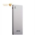 Внешний аккумулятор Aspor A352 Power bank 5000 mAh (2 USB : 5V-2.1A & 1.0A), цвет белый