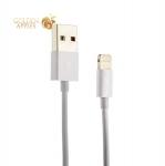Lightning кабель USB Aspor MFI (1.0 м), цвет белый