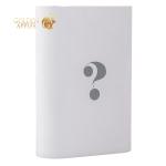 Внешний аккумулятор Wisdom YC-YDA7 Portable Power Bank 7800 mAh ceramic white (USB выход: 5V 2.1A), цвет белый