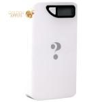 Внешний аккумулятор Wisdom YC-YDA10 Portable Power Bank 13000 mAh ceramic white (USB выход: 5V 1A & 5V 2A), цвет белый